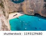 shipwreck beach close up photo... | Shutterstock . vector #1193129680