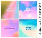 abstract vector beach blurred... | Shutterstock .eps vector #1193136319