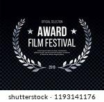 elegant award logotype ... | Shutterstock .eps vector #1193141176