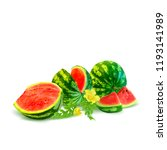 fresh  nutritious and tasty... | Shutterstock .eps vector #1193141989