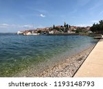 town kali on the island of... | Shutterstock . vector #1193148793