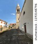 sveti lovre church in kali on... | Shutterstock . vector #1193148796