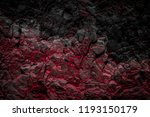 Black And Red Colored Rocks  ...