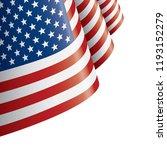 usa flag  vector illustration... | Shutterstock .eps vector #1193152279