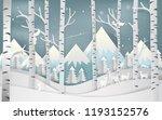illustration of merry christmas ... | Shutterstock .eps vector #1193152576