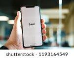 riga  september 2018   recently ... | Shutterstock . vector #1193164549
