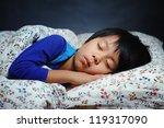 Handsome Boy Sleeping Peacefully