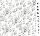 floral seamless pattern with... | Shutterstock .eps vector #1193179513