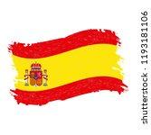 flag of spain  grunge abstract...   Shutterstock .eps vector #1193181106