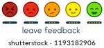 leave feedback. vote scale with ... | Shutterstock .eps vector #1193182906