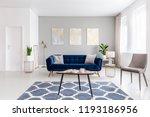 open space living room interior ... | Shutterstock . vector #1193186956