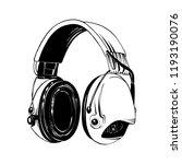 vector engraved style... | Shutterstock .eps vector #1193190076