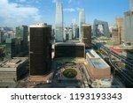 high angle view of beijing... | Shutterstock . vector #1193193343