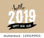greeting card template with... | Shutterstock .eps vector #1193195923