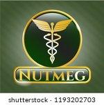 golden emblem or badge with... | Shutterstock .eps vector #1193202703