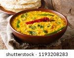 delicious dal tadka recipe of... | Shutterstock . vector #1193208283
