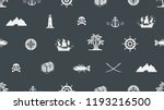 vector seamless background on a ... | Shutterstock .eps vector #1193216500
