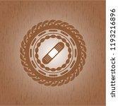 bandage plaster icon inside... | Shutterstock .eps vector #1193216896