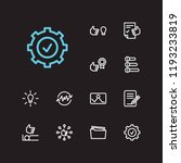multitasking icons set. reward... | Shutterstock .eps vector #1193233819