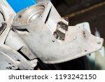 boat racing steering part in...   Shutterstock . vector #1193242150