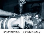 car engine intake side receiver ... | Shutterstock . vector #1193242219