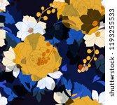 beautiful seamless floral... | Shutterstock .eps vector #1193255533