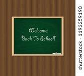 back to school. illustration of ... | Shutterstock . vector #1193259190