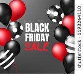 black friday sale. | Shutterstock .eps vector #1193264110