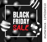 black friday sale. | Shutterstock .eps vector #1193264113