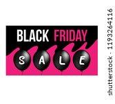 black friday sale. | Shutterstock .eps vector #1193264116