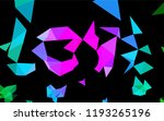 dark multicolor  rainbow vector ... | Shutterstock .eps vector #1193265196