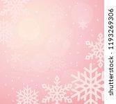 winter background illustration...   Shutterstock .eps vector #1193269306