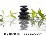 still life with stacked black...   Shutterstock . vector #1193271079