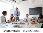 businessmen and businesswomen... | Shutterstock . vector #1193273053