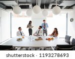 businessmen and businesswomen... | Shutterstock . vector #1193278693