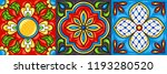 mexican talavera ceramic tile...   Shutterstock .eps vector #1193280520