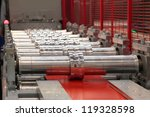 the rolling machine for hire... | Shutterstock . vector #119328598