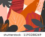autumn design with abstract... | Shutterstock .eps vector #1193288269