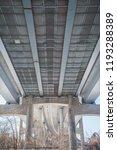industrial metal bridge with...   Shutterstock . vector #1193288389