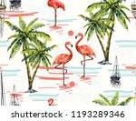 beautiful botanical vector... | Shutterstock .eps vector #1193289346