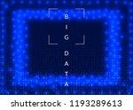 quantum computing background.... | Shutterstock .eps vector #1193289613