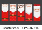 vector merry christmas and... | Shutterstock .eps vector #1193307646