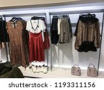 a set of fashionable leopard... | Shutterstock . vector #1193311156