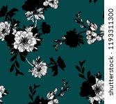 floral background based on ink... | Shutterstock .eps vector #1193311300