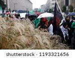 brussels  belgium. 2nd oct.... | Shutterstock . vector #1193321656