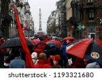 brussels  belgium. 2nd oct.... | Shutterstock . vector #1193321680