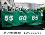 brussels  belgium. 2nd oct.... | Shutterstock . vector #1193321713