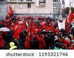 brussels  belgium. 2nd oct.... | Shutterstock . vector #1193321746