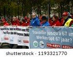 brussels  belgium. 2nd oct.... | Shutterstock . vector #1193321770