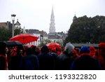 brussels  belgium. 2nd oct.... | Shutterstock . vector #1193322820